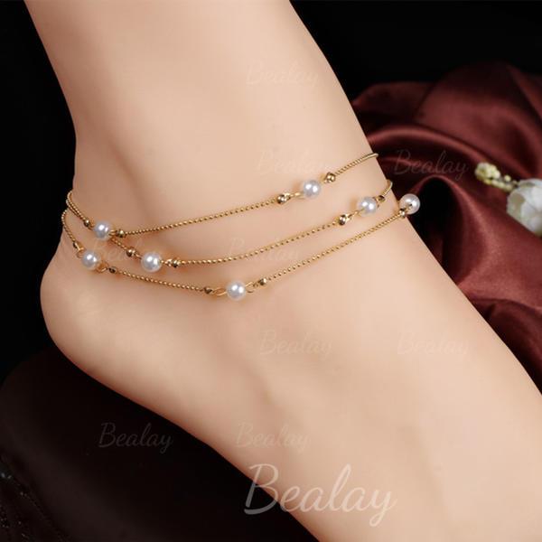 Alloy Foot Smykker (Sælges i et enkelt stykke)
