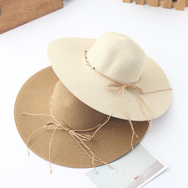 Dames Style Classique avec Bowknot Chapeaux de plage / soleil