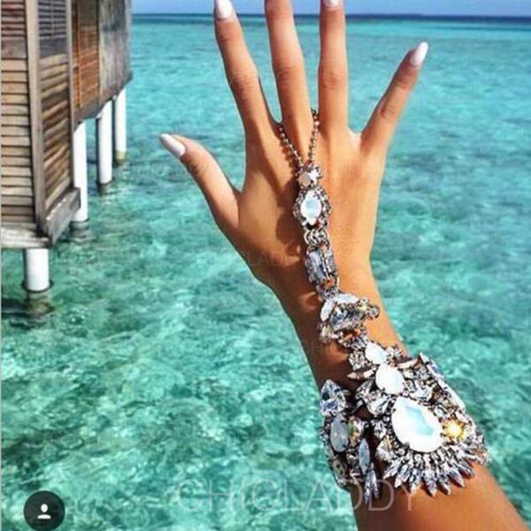 Sexy Alliage avec Imitation cristal Femmes Bijoux de plage