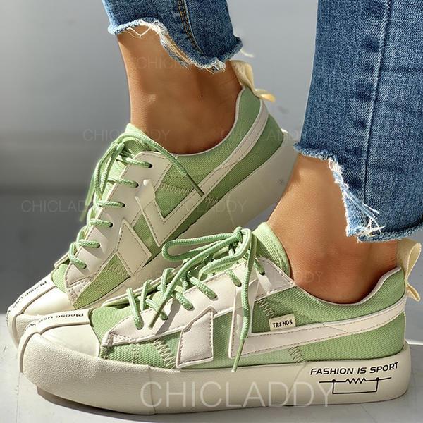 De mujer Lona Casual al aire libre con Cordones zapatos