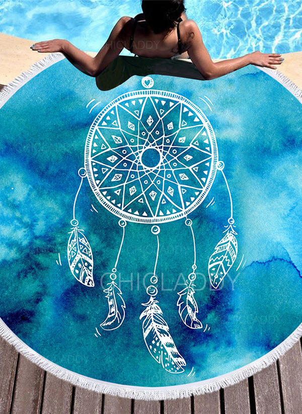 Atrapasueños moda/simple/Boho toalla de playa
