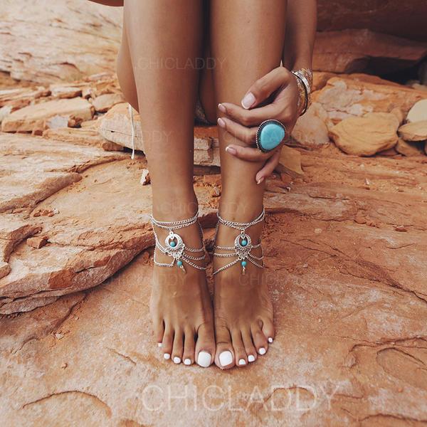 Chic Alliage avec Perle d'imitation Femmes Bijoux de plage