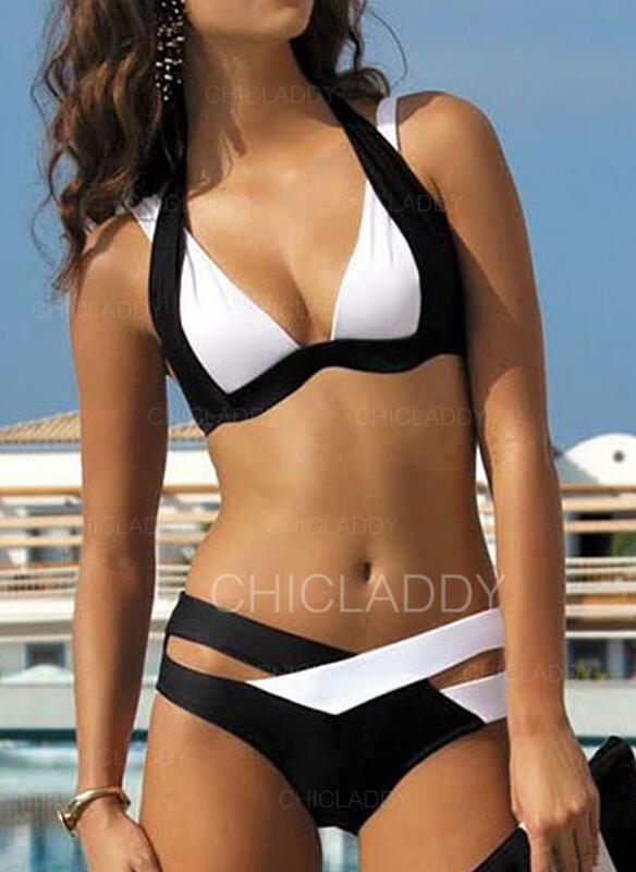 Triangle Taille Basse Dos Nu Sexy Grande taille Bikinis Maillots De Bain