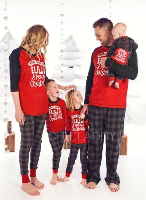 List Rodzinne Dopasowanie Świąteczne piżamy