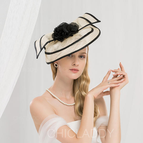 cf7bfdcb1 [US$ 75.99] Ladies' Simple/Romantic/Vintage Cambric With Flower  Fascinators/Kentucky Derby Hats/Tea Party Hats - Chicladdy