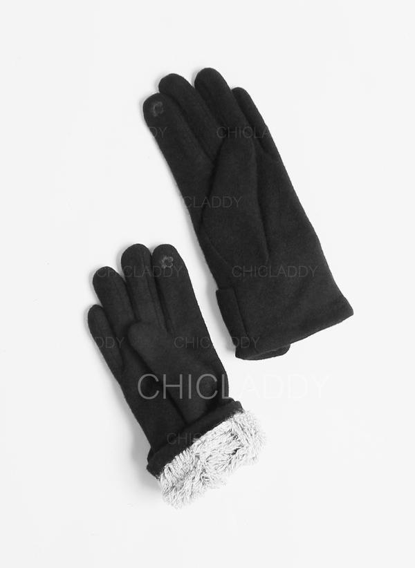Solid Color simple/Cold weather Gloves