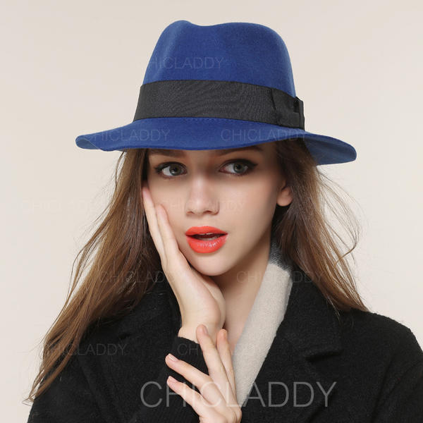 573101912 [US$ 34.99] Ladies' Elegant Acrylic/Wool Blend Bowler/Cloche Hats -  Chicladdy