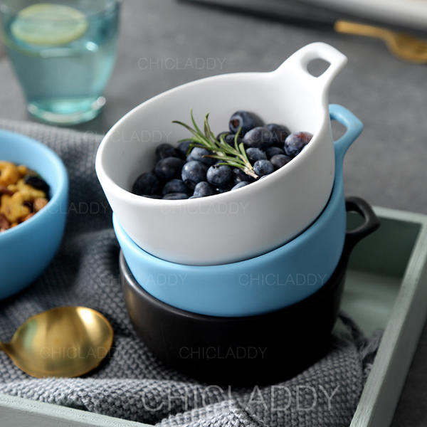 Simple Porcelaine Bols à Salade