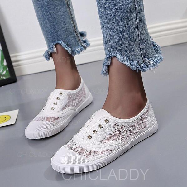 De mujer Encaje Casual al aire libre con Encaje zapatos