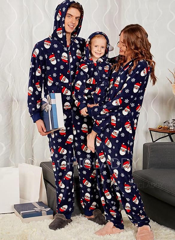 Christmas Pajamas.Us 24 99 Santa Print Family Matching Christmas Pajamas Chicladdy