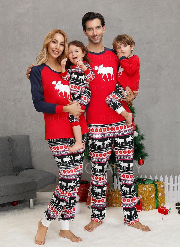 Північний олень Для сім'ї Різдвяні піжами