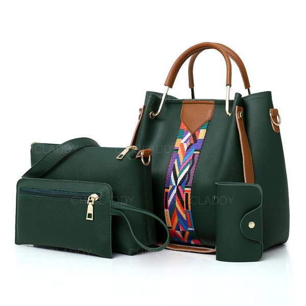 Elegante Bolsas de mano/Bolso de Hombro/Conjuntos de bolsa/Carteras y Puños