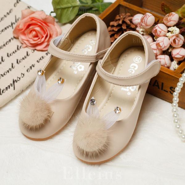 Bébé Filles Ivoire Pour Bébé Chaussures Avec Froncé Détail Fleur