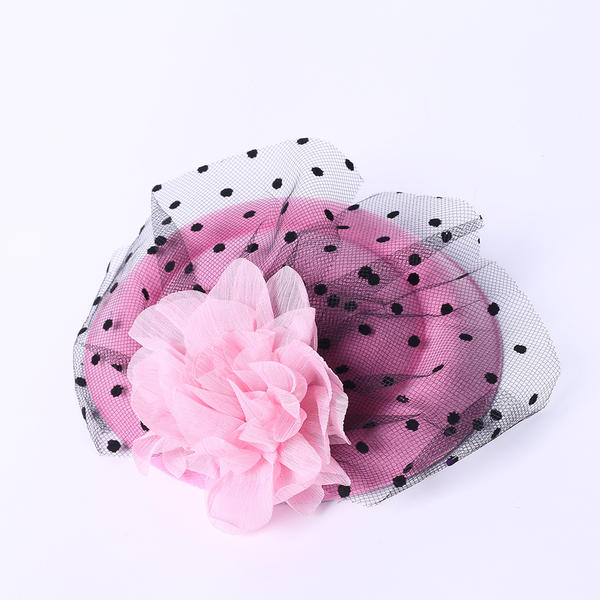 582c2a3d0 [US$ 3.99] Ladies' Elegant Silk Flower/Tulle Fascinators/Tea Party Hats -  Elleins