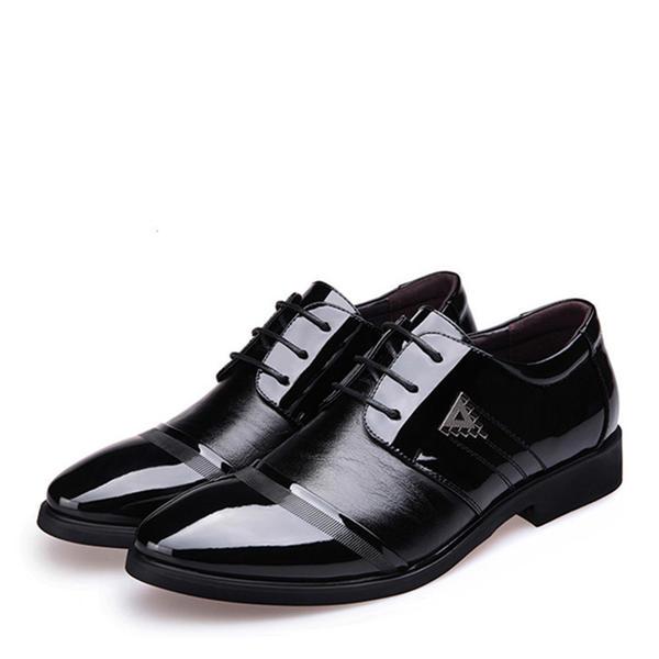 20798c385733 Cap Toes Blondér Pæne sko Kunstlæder Mænd Oxfords til Herrer ...