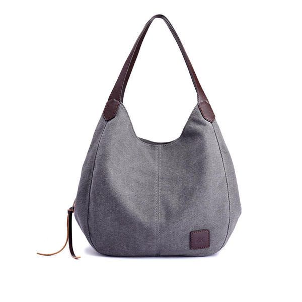 Canvas Style Canvas Shoulder Bags/Hobo Bags
