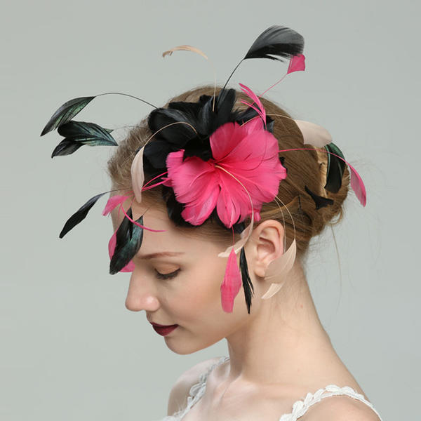 a597616fb [US$ 21.99] Ladies' Glamourous/Elegant/Fancy Feather With Feather  Fascinators - Elleins