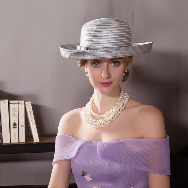 561020e8b [US$ 21.99] Ladies' Elegant Polyester With Bowknot Bowler/Cloche  Hats/Kentucky Derby Hats/Tea Party Hats - Elleins