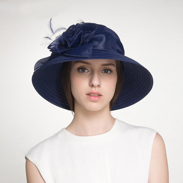 a1b5c9fb1 [US$ 45.99] Ladies' Beautiful/Glamourous Polyester With Flower Floppy  Hats/Beach/Sun Hats - Elleins