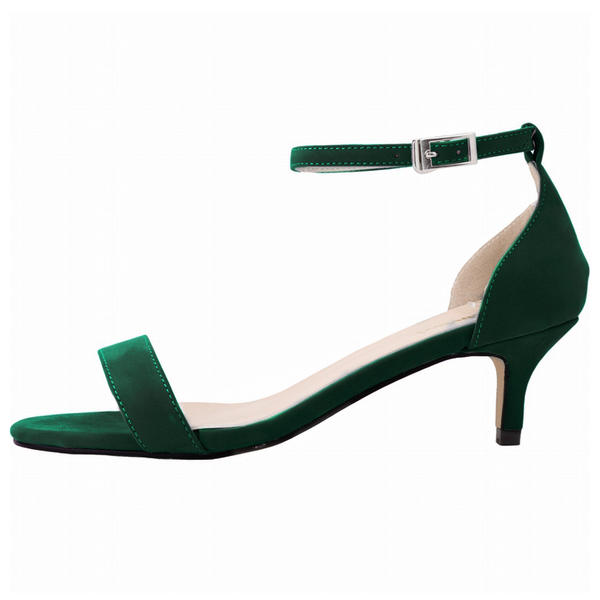 De mujer Ante Tacón bajo Sandalias Encaje zapatos