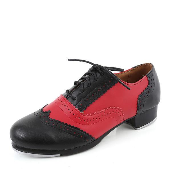 300cd93db178 Unisexmodell Trykk Flate sko Microfiber Lær Trykk (228176585 ...