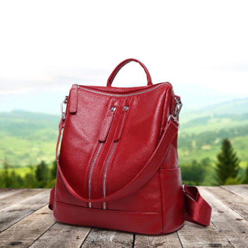 Fashionable Genuine leather Backpacks