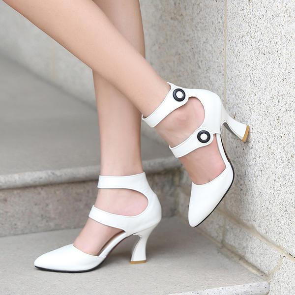 De mujer Ante Tacón ancho Sandalias Salón Cerrados Mary Jane con Otros zapatos