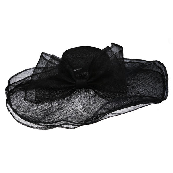 e5e932e57 [US$ 59.99] Ladies' Special Cambric With Bowknot Floppy Hats - Elleins