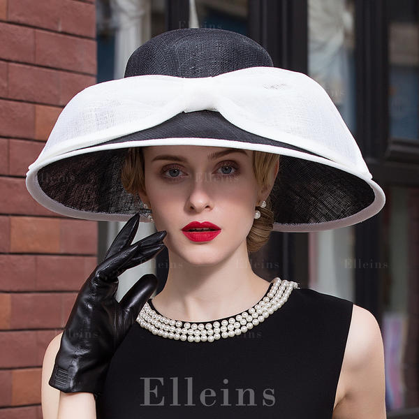 af331c0a6 [US$ 86.99] Ladies' Special Net Yarn Bowler/Cloche Hats/Kentucky Derby Hats  - Elleins