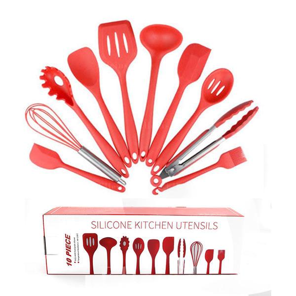 Silicone Ustensiles De Cuisine Lot De 10 286188843