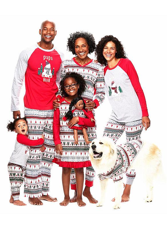 Family Christmas Pajamas 2019.Matching Christmas Pajamas Family