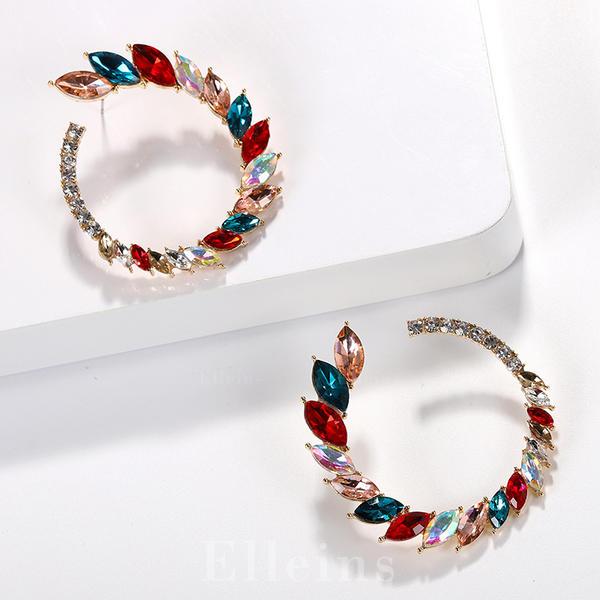 Shining Crystal Women's Earrings