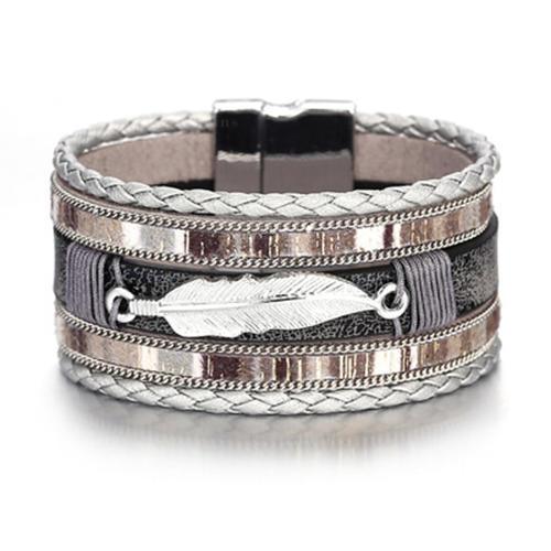 Exotic Leatherette Unisex Bracelets