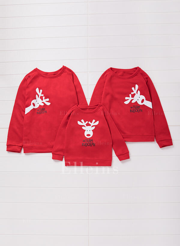 Reindeer Family Matching Sweaters