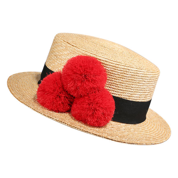 862c8b41d [US$ 64.99] Ladies' Simple/Nice/Fancy Polyester Beach/Sun Hats - Elleins