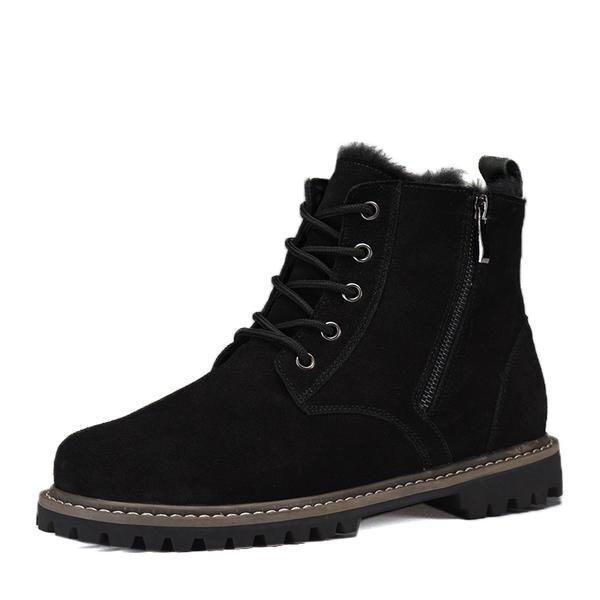 e312936c3 [US$ 59.99] Snø støvler Avslappet Semsket Menn Boots til herre - Elleins