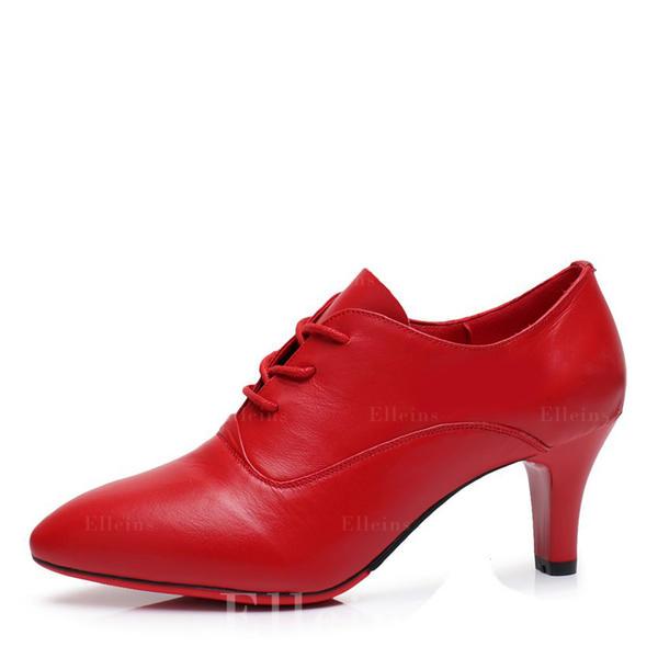 63330cdaa00 De mujer Danza latina Estilo Moderno Swing zapatos de personaje Tacones Piel  Danza latina