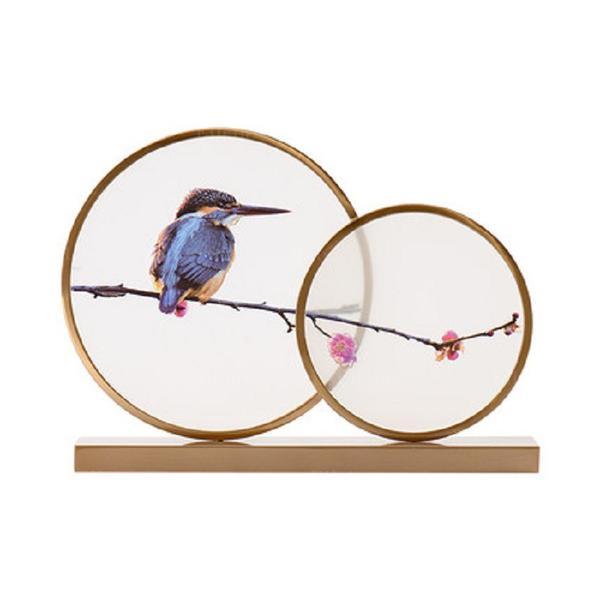 Zł 41800 Nieformalny Metal Ptak Przedmioty Dekoracyjne Elleins