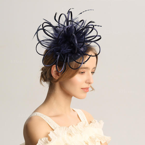 6d70f046c [US$ 31.99] Ladies'  Special/Glamourous/Elegant/Unique/Fancy/Romantic/Vintage/Artistic Feather  Fascinators/Kentucky Derby Hats - Elleins