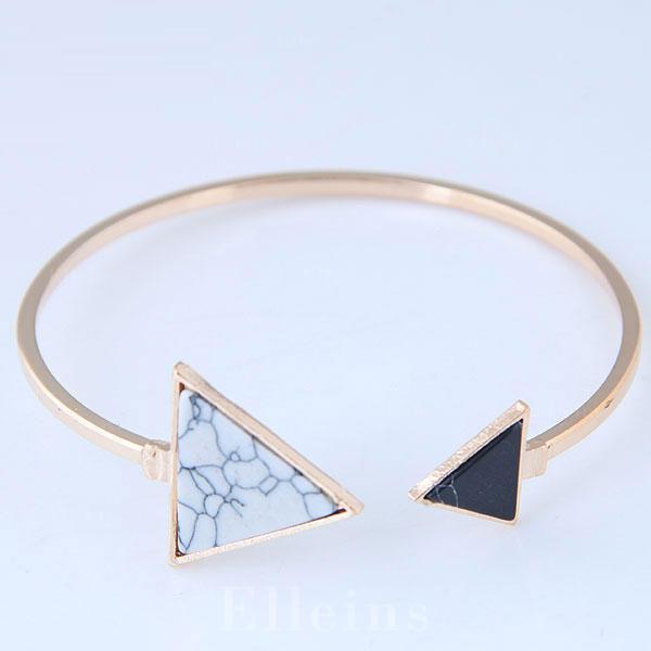 Fashionable Alloy Resin Ladies' Fashion Bracelets