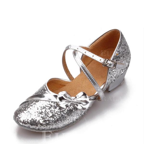 Mulheres Salão de Baile Espumante Glitter Salão de Baile