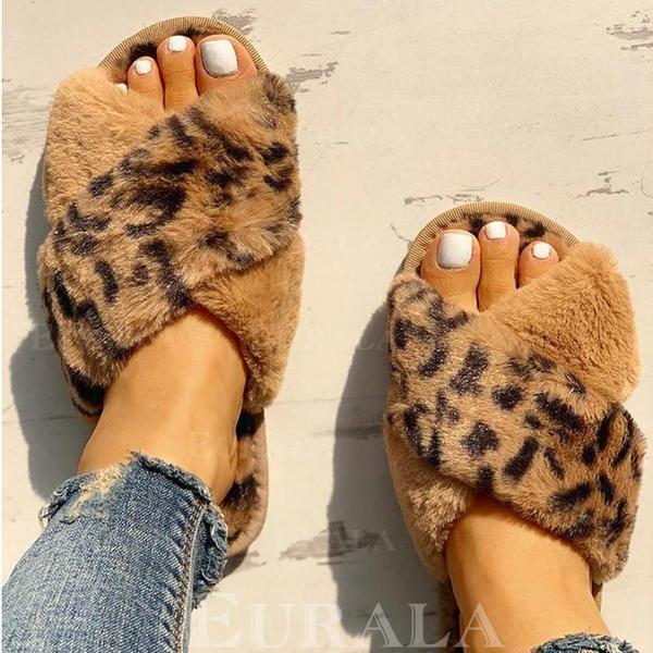 Női PU Lapos sarok Papucs -Val Egyéb cipő