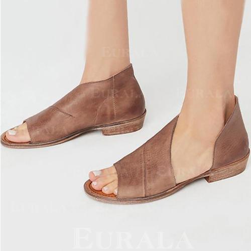 Жіночі Шкіра Низький каблук Сандалі з Інші взуття