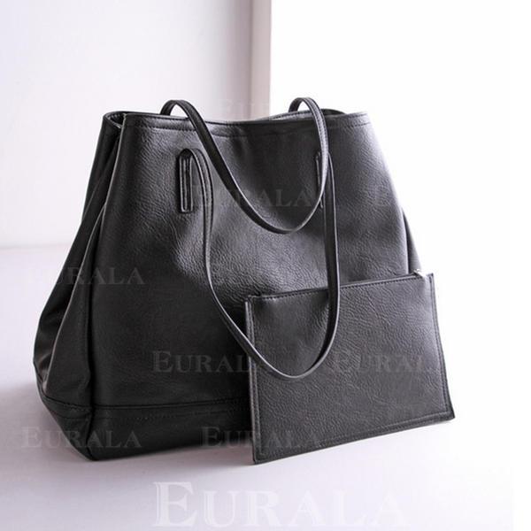 Koyu renk Bez Çantalar/Kova Çantaları