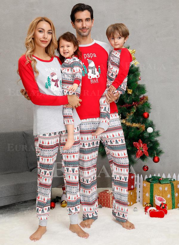 Bear Családi Karácsonyi pizsamák