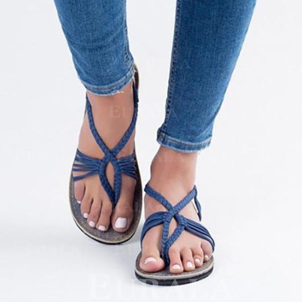 Planos Encaje Plano Con Sandalias Pu De Mujer Zapatos Tacón Otros xBoQrdCeWE
