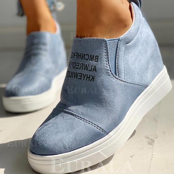 Női Szarvasbőr Alkalmi Szabadtéri cipő
