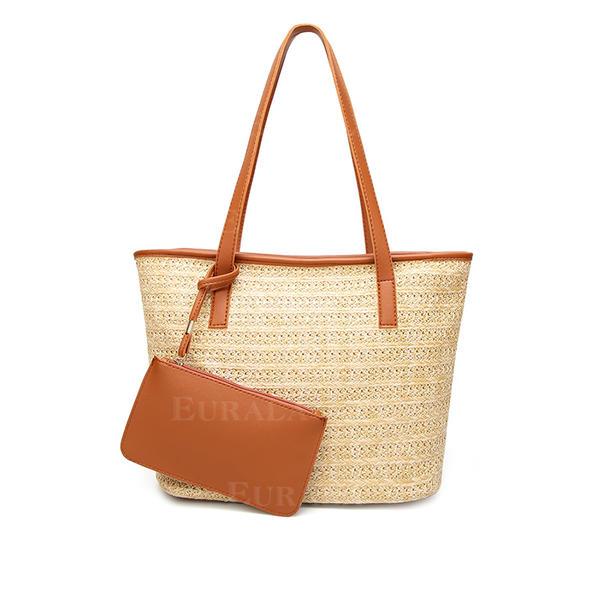 Zarif Saman Bez Çantalar/Plaj Çantaları