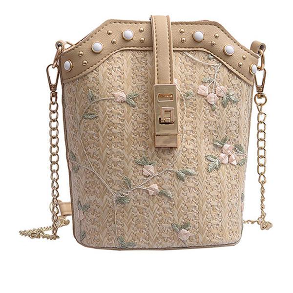 Büyüleyici PU Omuz çantaları/Plaj Çantaları/Kova Çantaları