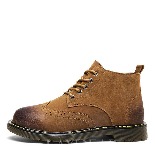 df1be0a73 [US$ 56.99] Chelsea Avslappet Egte Lær Menn Boots til herre - Laydear